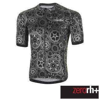 【ZeroRH+】義大利 Gear_Power 男仕專業自行車衣(灰色 ECU0511_905)  ZeroRH+