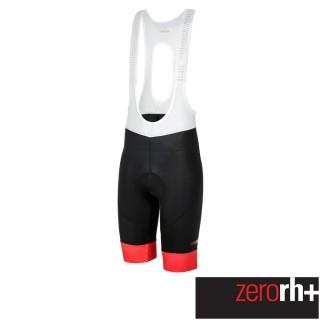 【ZeroRH+】義大利 Logo 男仕專業自行車褲(紅色 ECU0520_930)真心推薦  ZeroRH+