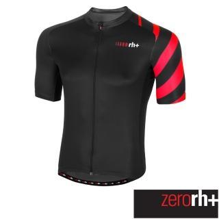 【ZeroRH+】義大利 Tribe 男仕專業自行車衣(黑色 ECU0506_930)真心推薦  ZeroRH+