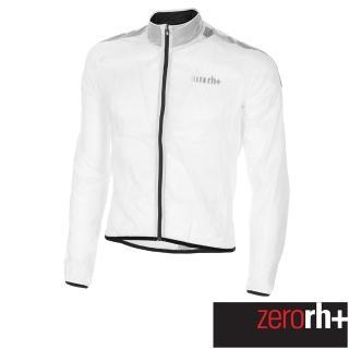 【ZeroRH+】義大利專業收納型超輕量易收折反光風衣(白色 SSCX563_R09)  ZeroRH+