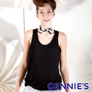 【Gennies 奇妮】小天使素面無袖上衣(桃紅/白/黑G3125)  Gennies 奇妮