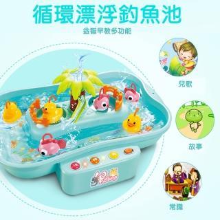 【GCT玩具嚴選】循環漂浮釣魚池(釣魚樂 滑水道釣魚 漂浮遊戲) 推薦  GCT玩具嚴選