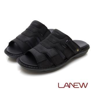 【La new】輕量Q彈 拖鞋(男224075134)  La new