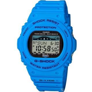 【CASIO 卡西歐】G-SHOCK G-LIDE頂級極限運動錶(GWX-5700CS-2)  CASIO 卡西歐