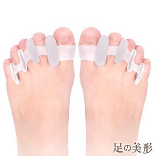 【足的美形】拇趾外翻4孔分趾套(2雙)好評推薦  足的美形
