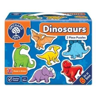 【Orchard Toys】第一組拼圖-恐龍(Dinosaurs Jigsaw Puzzle)