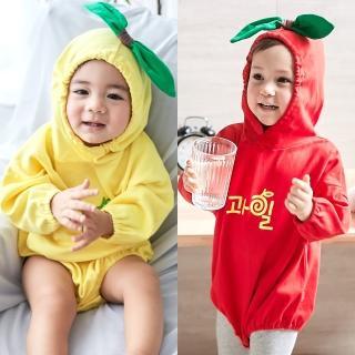 【Baby童衣】造型包屁衣 連帽立體水果兔裝 82025(共2色)真心推薦  Baby童衣