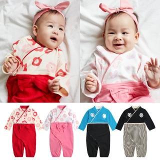 【Baby童衣】兩用睡袋 連身衣 日本和服造型爬服 82038(共4色)推薦折扣  Baby童衣
