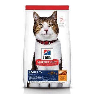 【Hills 希爾思】送贈品 熟齡貓老貓 7歲以上成貓(活力長壽 雞肉配方 10kg)  Hills 希爾思