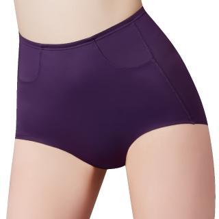 【Swear 思薇爾】輕塑型系列64-82高腰平口束褲(戀紫色)好評推薦  Swear 思薇爾