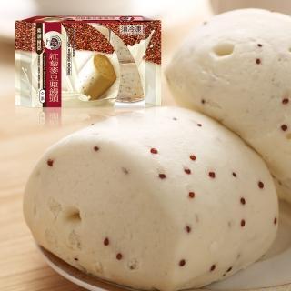 【名廚美饌】紅藜麥豆漿饅頭(70gx18入)  名廚美饌