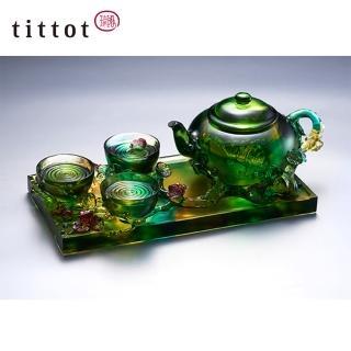 【tittot 琉園】斟情人生 琉璃 擺飾(琉璃)  tittot 琉園