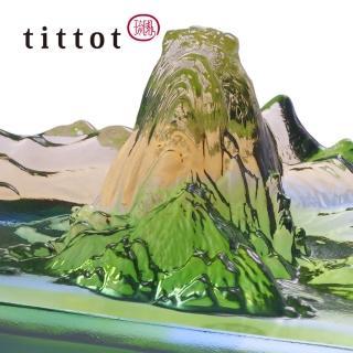 【tittot 琉園】山水載情 擺飾(琉璃)強力推薦  tittot 琉園