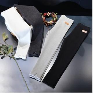 【小衣衫童裝】中小童必備款時尚褲管開岔內搭長褲(1070932)好評推薦  小衣衫童裝