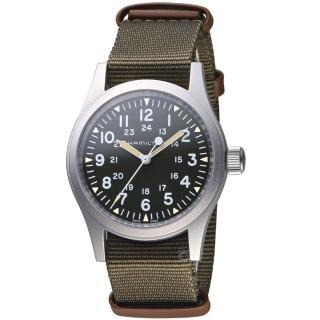 【HAMILTON 漢米爾頓】卡其野戰系列軍事腕錶(H69429931)  HAMILTON 漢米爾頓