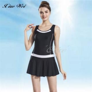 【小薇的店】泳之美品牌時尚連身裙泳裝(NO.2350H)  小薇的店