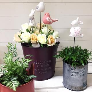 【BonBon naturel】精美陶瓷花插組(花插/擺飾)  BonBon naturel