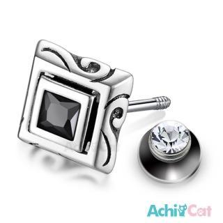 【AchiCat】925純銀耳環 神秘傳說 栓扣式耳環 抗過敏鋼耳針 GS7079好評推薦  AchiCat