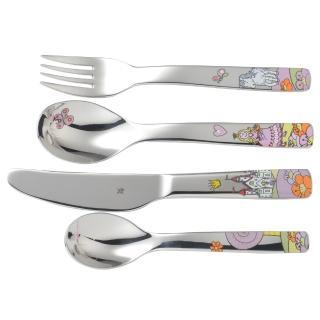 【WMF】小公主不鏽鋼兒童餐具 4件組  WMF