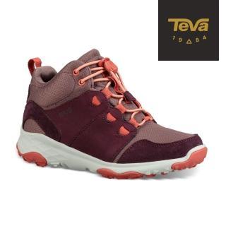 【TEVA】小童/大童 Arrowood 2 Mid WP 中筒防潑水休閒鞋(梅紅-TV1093994CPLUM/TV1093994YPLUM)好評推薦  TEVA