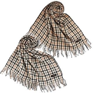 【DAKS】經典格紋喀什米爾大披巾(2色) 推薦  DAKS