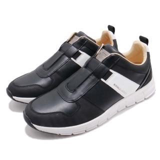 【ROYAL Elastics】休閒鞋 Rider 低筒 運動 男鞋 穿脫方便 套腳 皮革 質感 舒適 穿搭 黑 白(01183990)  ROYAL Elastics