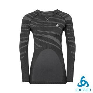 【ODLO】女 保暖型 運動 Blackcomb 長袖內層衣(黑) 推薦  ODLO
