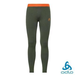 【ODLO】男 保暖型 運動 Blackcomb 內層長褲(常春藤綠)  ODLO
