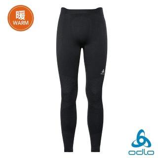 【ODLO】男 銀離子抗菌 保暖型運動內層長褲(黑)強力推薦  ODLO