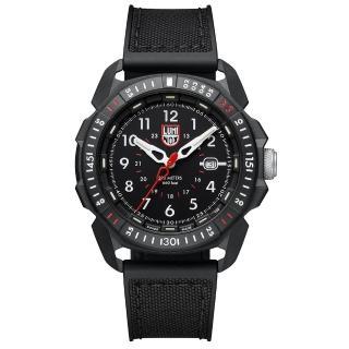 【LUMINOX 雷明時】ICE-SAR Arctic冰島搜救隊聯名腕錶(黑x白時標/45mm)  LUMINOX 雷明時