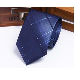 【拉福】領帶8cm寬版領帶拉鍊領帶(漸變藍)好評推薦  拉福