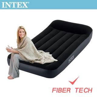 【INTEX】舒適單人加大充氣床_FIBER TECH-寬99cm(64141)  INTEX