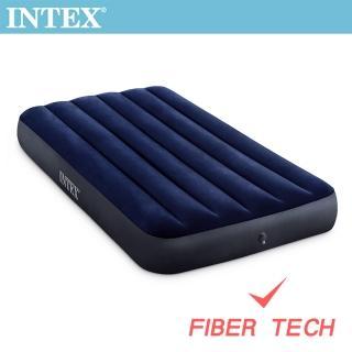 【INTEX】經典單人加大_新款FIBER TECH_充氣床墊-寬99cm(64757)強力推薦  INTEX