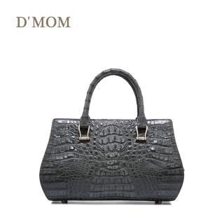 【DMOM】西班牙頂級鱷魚名媛包〈灰色〉  DMOM