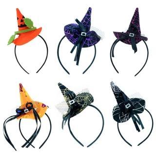 【梨花HaNA】萬聖節裝可愛小巫師帽髮箍(髮圈/髮箍)  梨花HaNA