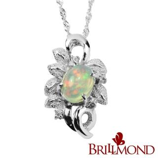 【BRILLMOND JEWELRY】水漾蛋白石墜(1克拉)  BRILLMOND JEWELRY