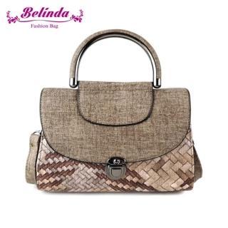 【Belinda】愛麗絲編織紋手提側背包-三色  Belinda