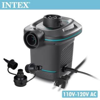 【INTEX】110V家用電動充氣幫浦_充洩二用(66639)強力推薦  INTEX