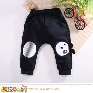 【魔法Baby】幼兒長褲 秋冬棉柔束口長褲(k60732)強力推薦  魔法Baby