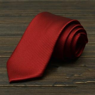 【拉福】斜紋領帶8cm寬版領帶拉鍊領帶(兒童 可選色)  拉福