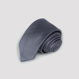 【拉福】領帶6cm中窄版領帶拉鍊領帶(兒童深灰) 推薦  拉福