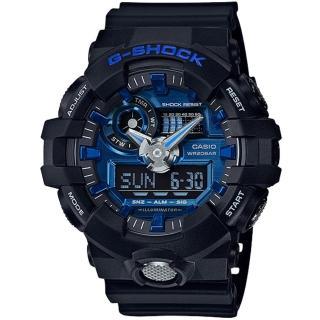 【CASIO 卡西歐】G-SHOCK 新款前衛強悍視覺休閒錶(GA-710-1A2)強力推薦  CASIO 卡西歐