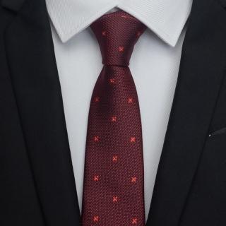【拉福】領帶6cm中窄版領帶拉鍊領帶(兒童 紅紋)  拉福