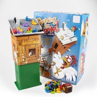 【GCT玩具嚴選】母雞彈跳屋桌遊 彈跳 桌遊 派對(母雞桌遊 派對遊戲) 推薦  GCT玩具嚴選