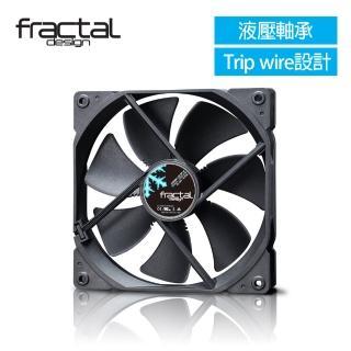 【Fractal Design】Dynamic X2 GP-14 黑 機殼系統靜音風扇 推薦  Fractal Design