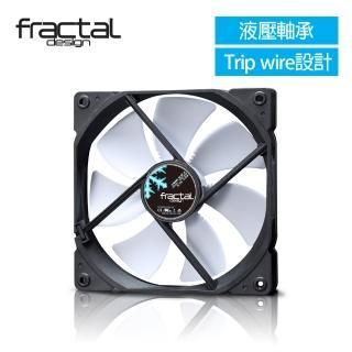【Fractal Design】Dynamic X2 GP-14 白 機殼系統靜音風扇  Fractal Design