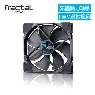 【Fractal Design】Venturi HP-14 PWM 黑 機殼系統高風量靜音風扇  Fractal Design