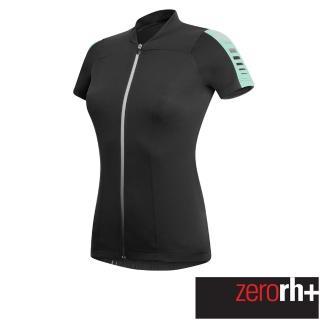 【ZeroRH+】義大利 SPIRIT 女仕專業自行車衣(黑/綠 ECD0256_968)真心推薦  ZeroRH+