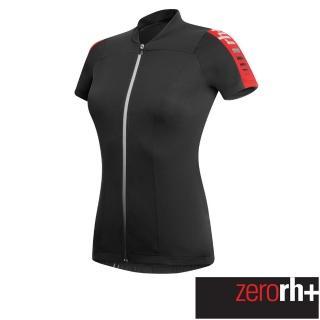 【ZeroRH+】義大利 SPIRIT 女仕專業自行車衣(黑/紅 ECD0256_930)推薦折扣  ZeroRH+