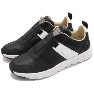 【ROYAL Elastics】休閒鞋 Rider 套腳 運動 女鞋 穿脫方便 免鞋帶 皮革 穿搭 舒適 黑 白(91183990)  ROYAL Elastics